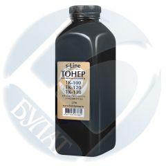 Тонер Kyocera FS-1028MFP банка 270г TK-100/120/130 БУЛАТ s-Line