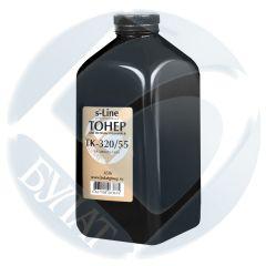 Тонер Kyocera FS-3900 банка 450г TK-320/55 БУЛАТ s-Line
