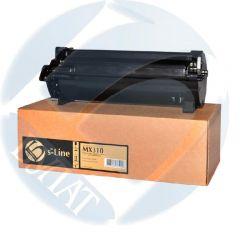 Тонер-картридж Lexmark MX310/MX410 605H (10k) e-Line
