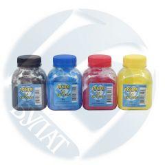 Тонер HP Color LJ CP1025/M176/Canon i-SENSYS LBP7010C банка 30г Yellow хим БУЛАТ