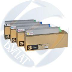 Тонер-картридж Oki C801/C821 44643003 Сyan (7.3k) БУЛАТ s-Line.