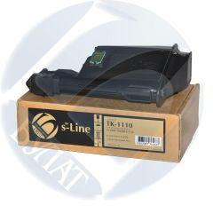 Тонер-картридж Kyocera FS-1040 TK-1110 (2.5k) (+чип) БУЛАТ s-Line