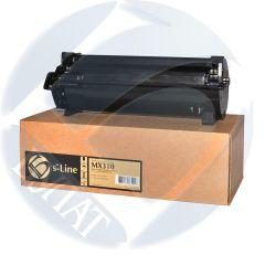 Тонер-картридж Lexmark MX310/MX410 605H (10k) БУЛАТ s-Line до версии LW73 включительно