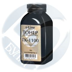 Тонер Kyocera FS-1024MFP банка 90г TK-1100 БУЛАТ s-Line