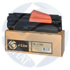 Тонер-картридж Kyocera FS-1024MFP TK-1100 (2.1k) (+чип) БУЛАТ s-Line
