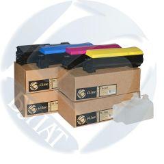 Тонер-картридж Kyocera FS-C5300/C5350/ECOSYS P6030C TK-560 (10k) Cyan (+чип) БУЛАТ s-Line