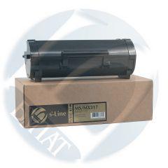 Тонер-картридж Lexmark MS/MX317 51B5000 (2.5k) БУЛАТ s-Line