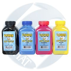 Тонер HP Color LJ CP1025/M176/Canon i-SENSYS LBP7010C банка 35г Black БУЛАТ