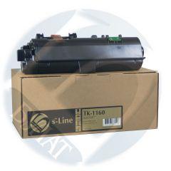 Тонер-картридж Kyocera ECOSYS P2040 TK-1160 (7.2k) (+чип) БУЛАТ s-Line
