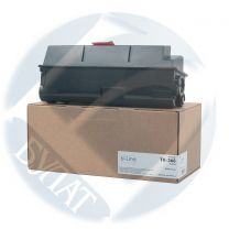Тонер-картридж Kyocera FS-4020 TK-360 (20k) (+чип) e-Line без бункера