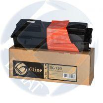 Тонер-картридж Kyocera FS-1300 TK-130 (7.2k) (+чип) БУЛАТ s-Line